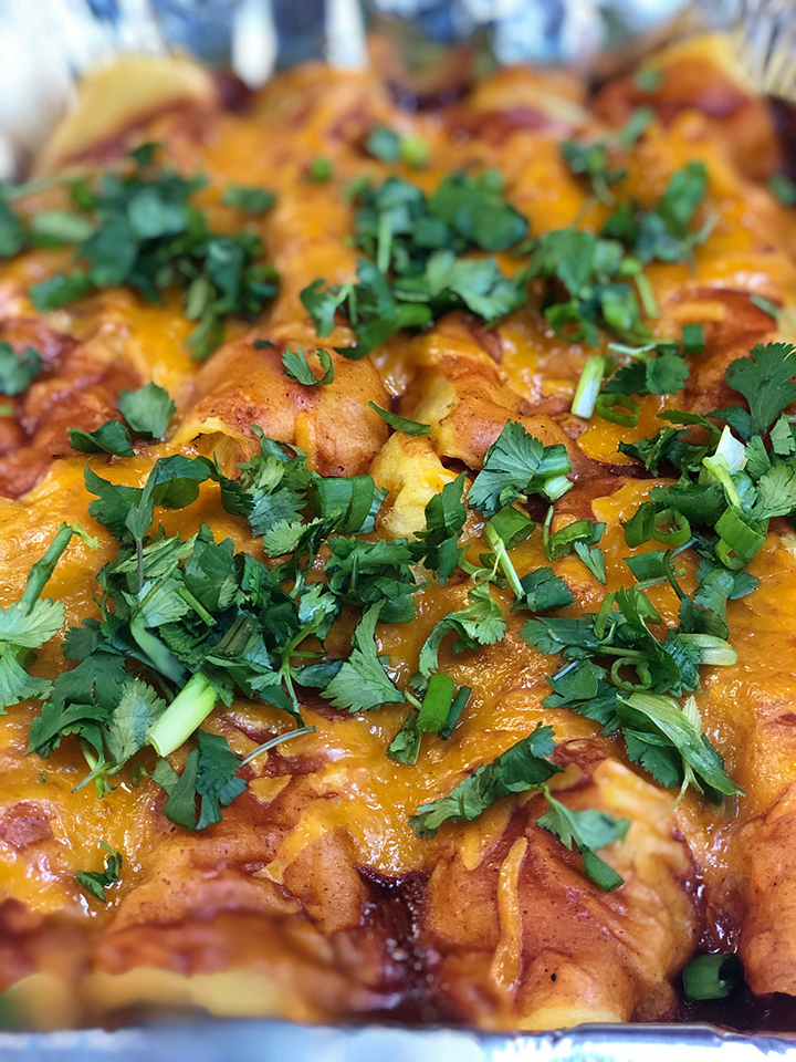 Meaty Enchiladas